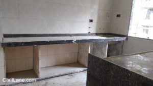 Black granite kitchen platform rates with material and labour mumbai