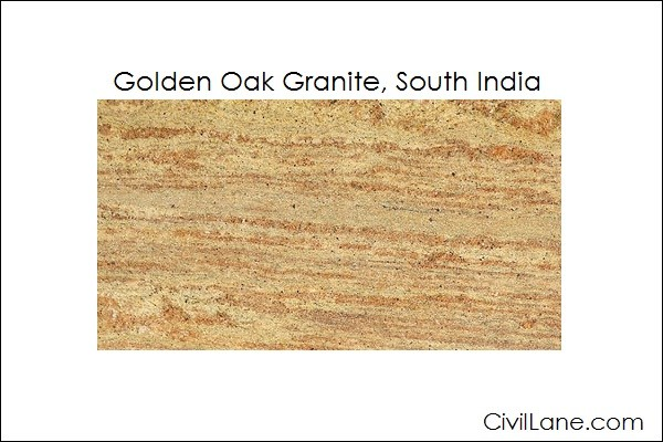 Top 5 Golden Oak Granite Mined From South India