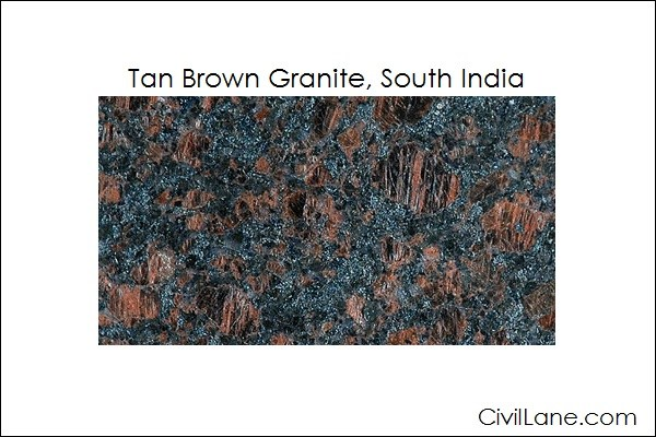 Top 5 Tan Brown Granite Mined From South India