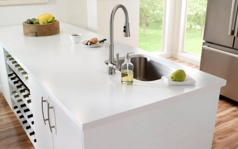 Corian countertop price per square foot corian countertop for Corian countertop price