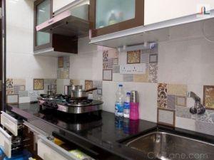 Straight Line Modular Kitchen Byculla