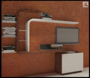 TU Unit Furniture Design With Combined Study Table