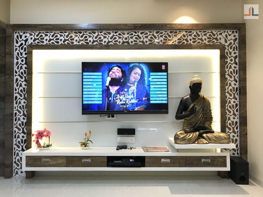 3BHK Flat Interior Design Mumbai 1200 Sq.ft