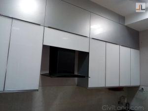 Kitchen loft storage