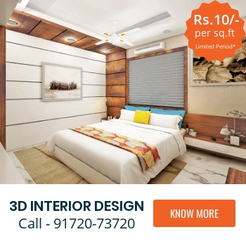 CivilLane 3D Interior Design Service Mumbai