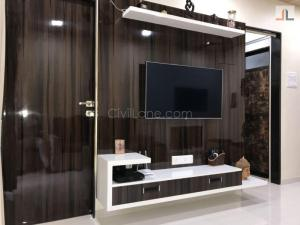 TV Unit Designs For Small Apartments In Mumbai 1BHK 1RK