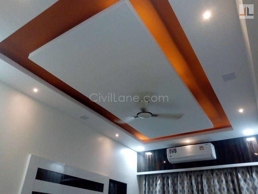 Attractive False Ceiling Design Wallpaper