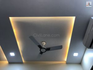 False Ceiling Design With Indirect Lights