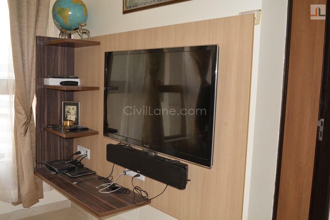 TV Unit Design L&T Powai 2BHK Mumbai