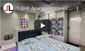 1BHK Apartment Interior Design 450 Sq Ft