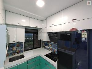 Kitchen Overhead Storage Loft L-Shaped