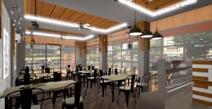 3D Bakery Shop Interior Design With Facade (1)