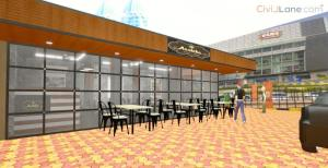 3D Bakery Shop Interior Design With Facade (4)