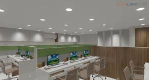 3D Corporate Office Interior Design Mumbai (1)