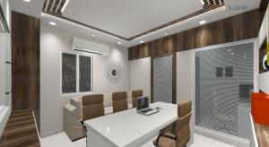 3D Small Office Space Interior Design (2)