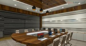 Conference Meeting Room Design With Projector (1)