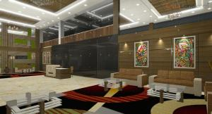 Corporate Building Reception Area Design (1)