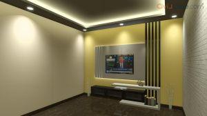 TV Unit Design 8 Feet 10182-3
