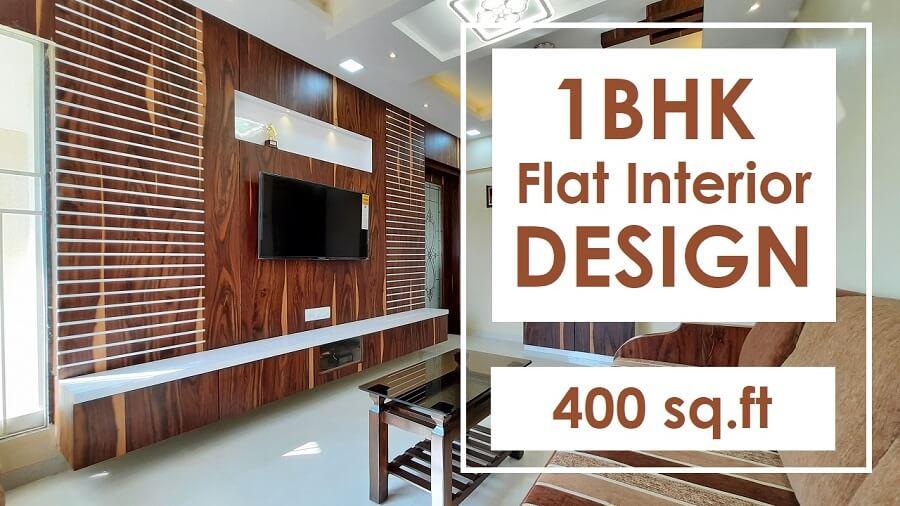 1BHK flat interior design Matunga Mumbai