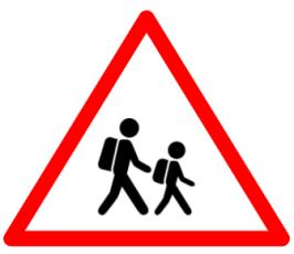 "Symbolic image of ""School"" sign"