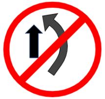 """Symbol image of """"Overtaking Prohibited"""" sign"""