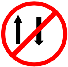 "Symbol image of ""One Way"" sign"
