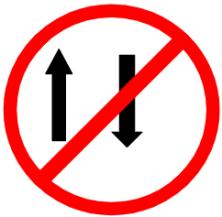 "Symbol image of ""One Way"" sign"