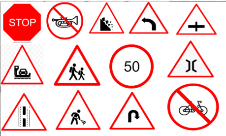 [110] Traffic Signs or Road Signs in India