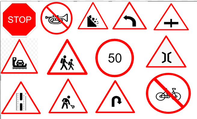 [110] All Traffic Signs or Road Signs Used in Indian Roads as per IRC