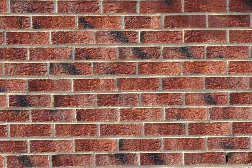 Brick partition wall