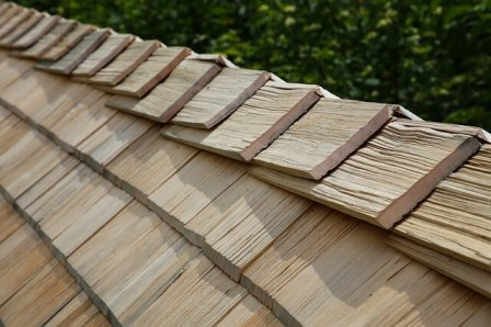 Roof Covering Materials - #4. Wood shingles