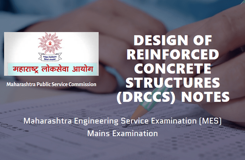 Design of Reinforced Concrete Structures Notes MES Exam