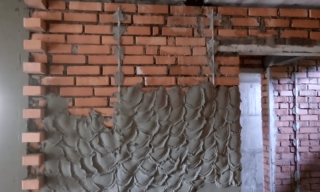 Traditional plastering