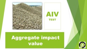 Aggregate Impact Value Testing | AIV TEST
