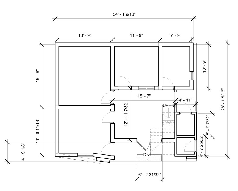 3 bedroom house plans civil Panel