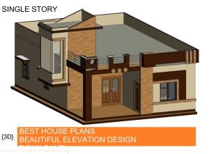 28×40 House Plans – Best Elevation Design
