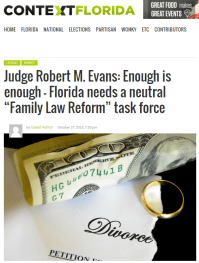 Oct 2015 Enough is Enough by FL Ret Judge Evans - 2015