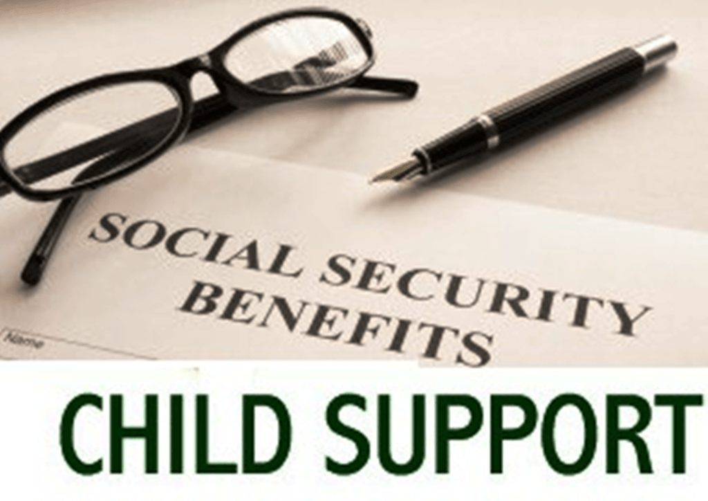 EFFECT OF SOCIAL SECURITY BENEFITS ON CHILD SUPPORT