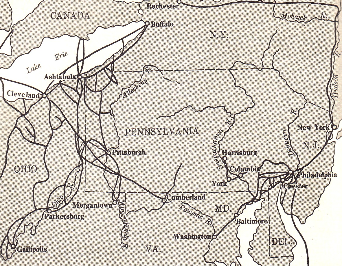 Civil War Blog Underground Railroad In Pennsylvania Selections From A School Textbook