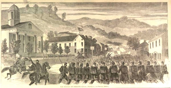 The Battle of Philippi | Image Credit: CivilWarDailyGazette.com