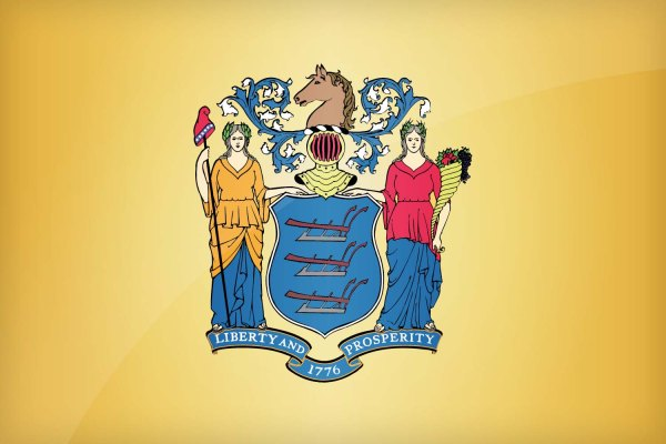 New Jersey State Flag | Image Credit: All-Flags-World.com