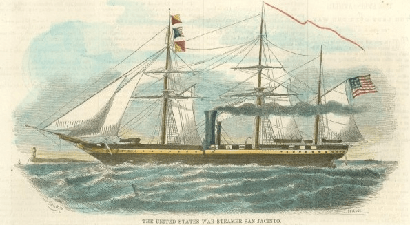 The U.S.S. San Jacinto | Image Credit: Longstreet.Typepad.com