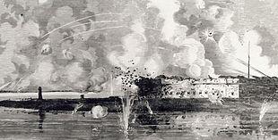 Reduction of Fort Pulaski   Image Credit: Wikipedia.org