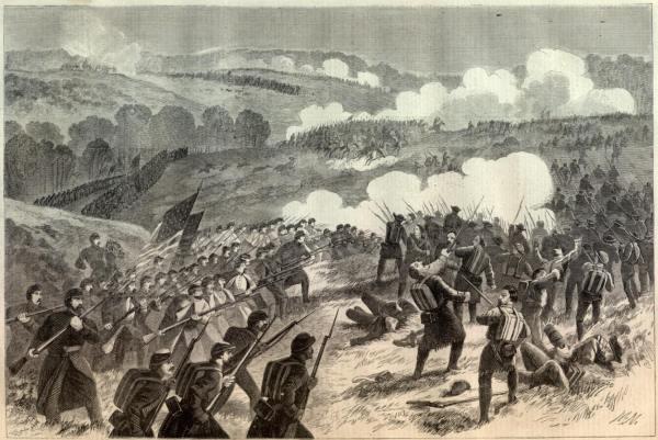 Battle of Pea Ridge | Image Credit: CivilWarDailyGazette.com