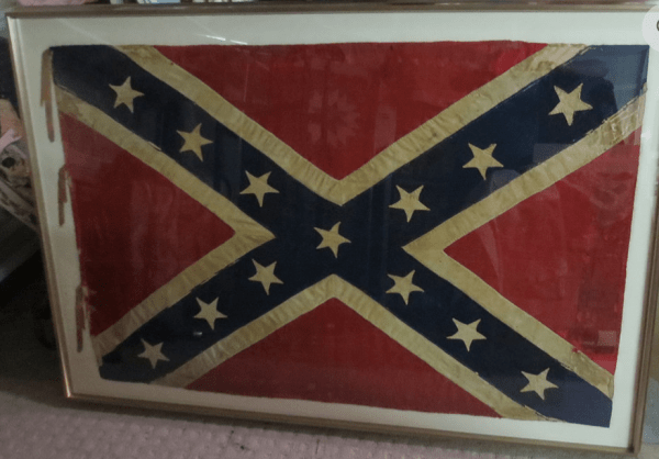 preserved battle flag