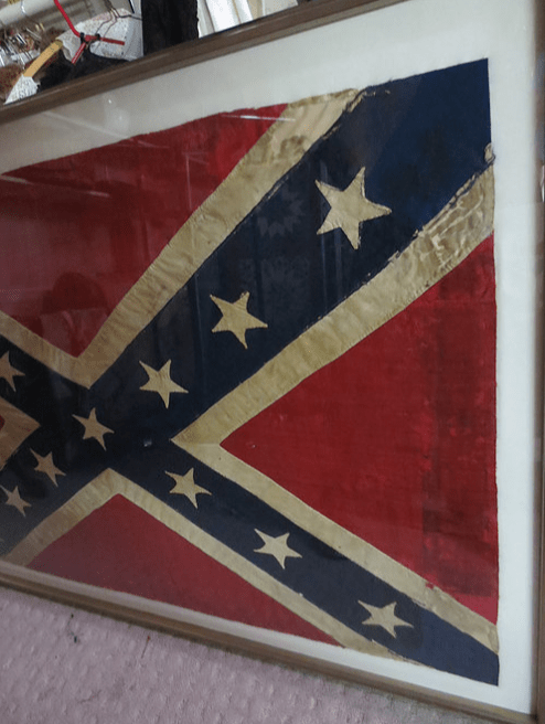 Right side of the battlefield flag