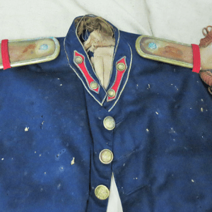 Upper part of the New York uniform coat