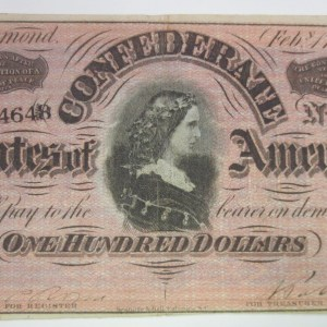 $100 currency bill