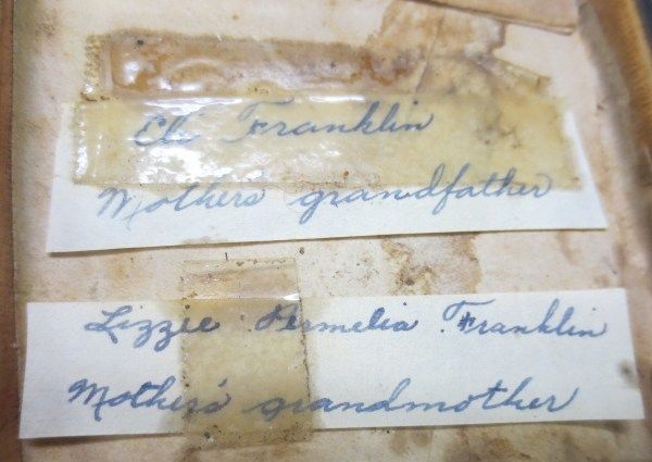 handwritings from the civil war