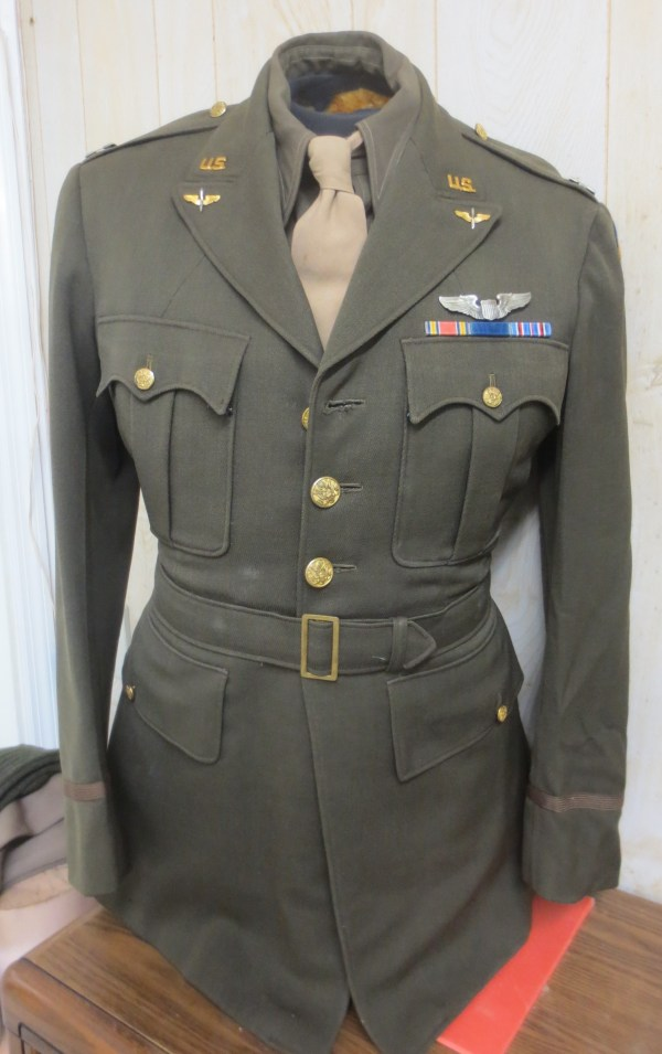 Airforce pilot tunic with shirt and tie